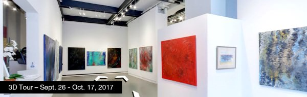 Take a virtual tour of the September 26, 2017 exhibition at Agora Gallery