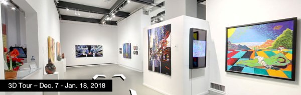 Take a virtual tour of the December 07, 2017 exhibition at Agora Gallery