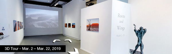 Take a virtual tour of the March 02, 2019 exhibition at Agora Gallery