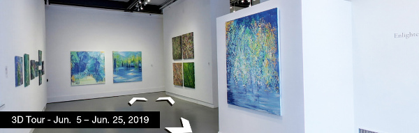 Take a virtual tour of the June 05, 2019 exhibition at Agora Gallery
