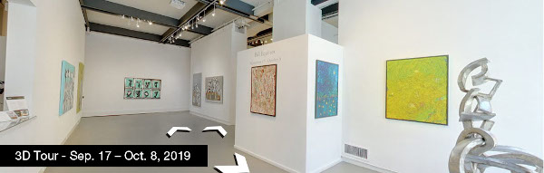 Take a virtual tour of the September 17, 2019 exhibition at Agora Gallery