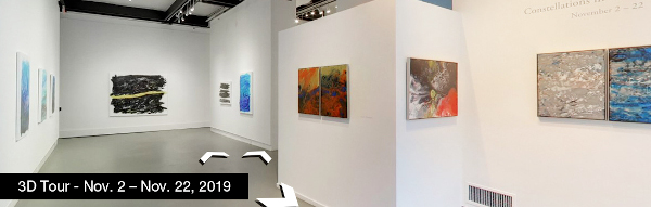 Take a virtual tour of the November 02, 2019 exhibition at Agora Gallery
