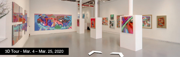 Take a virtual tour of the March 04, 2020 exhibition at Agora Gallery