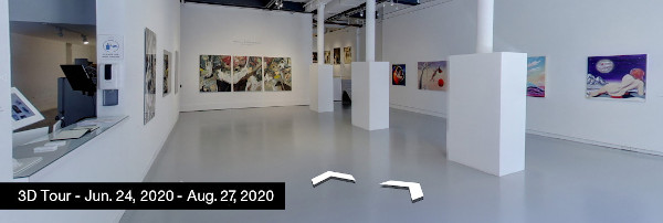Take a virtual tour of the July 24, 2020 exhibition at Agora Gallery