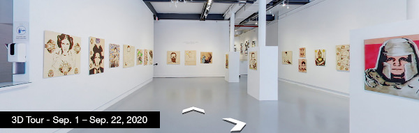 Take a virtual tour of the September 01, 2020 exhibition at Agora Gallery