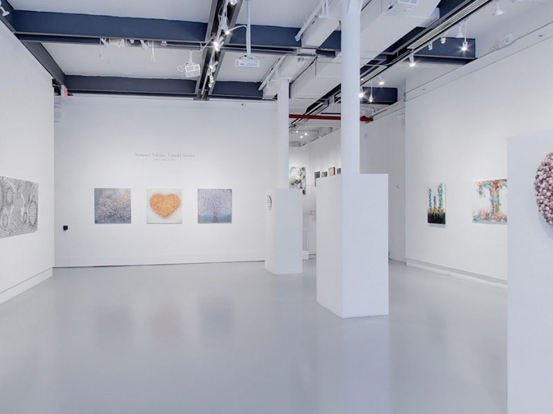 Take a virtual tour of the June 01, 2021 exhibition at Agora Gallery