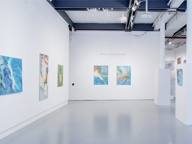 Take a virtual tour of the 7月 01, 2021 exhibition at Agora Gallery